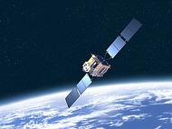 地球 宇宙 人工衛星 通信衛星 [1078789] - イラスト素材